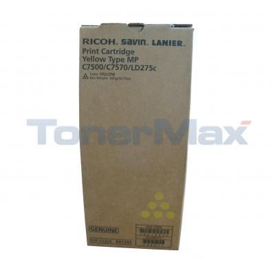 RICOH SL TYPE MP C7500/C7570/LD275C PRINT CTG YELLOW